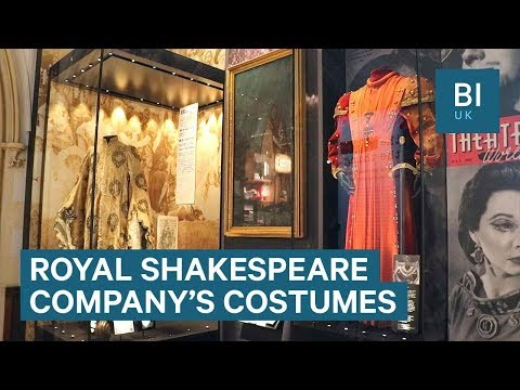 Inside the Royal Shakespeare Company's costume workshop