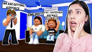 OUR PARENTS ARE GETTING A DIVORCE! - Roblox Roleplay - My Annoying Little Sister