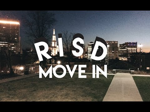 RISD MOVE IN//ORIENTATION
