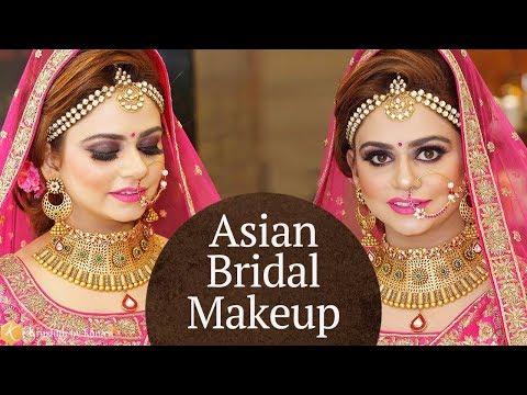 Beautiful Asian Bridal Makeup Tutorial | Makeup Tutorials for Indian Brides | Krushhh by Konica