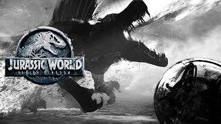 SPINOSAURUS Was Going To Be In Fallen Kingdom? | Jurassic World: Fallen Kingdom Concept Art