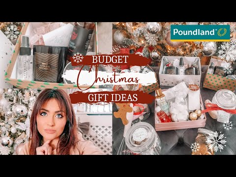 POUNDLAND CHRISTMAS HAMPERS AND GIFTS UNDER £10 / EXPENSIVE LOOKING PRESENTS ON A BUDGET 2020