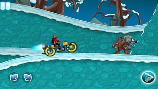 Zombie Shooter Motorcycle Race|Always Winter| Android Game