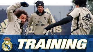 LIVE: Follow our training session ahead of Unionistas CF!