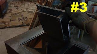 Отопление гаража. Печка своими руками #3