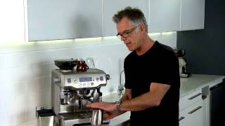 Getting the perfect Milk - The Oracle - Sage by Heston Blumenthal The Oracle