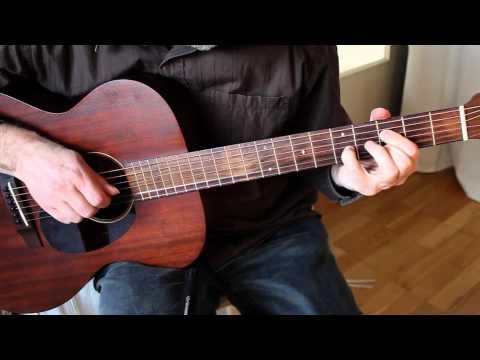 Michelle (Beatles) - Fingerstyle Guitar Cover - Martin 000-15M