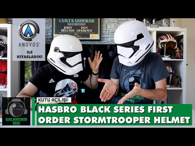 Unboxing & Review : Hasbro Star Wars The Black Series First Order Stormtrooper Helmet