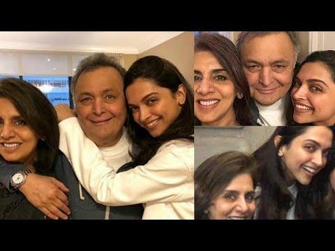 Deepika Padukone Meets Rishi Kapoor And Neetu Kapoor In New York Mp3