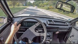 FSO Polonez Caro | 4K POV Test Drive #282 Joe Black