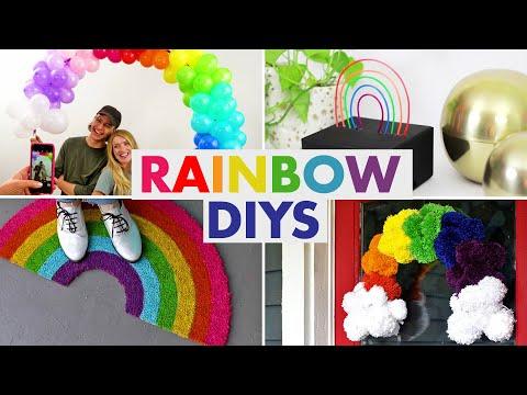 7 Rainbow Decorating DIYs - HGTV Handmade
