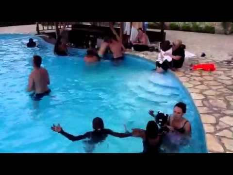 Wings Over Haiti - 1st Visit to Pool