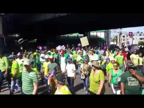 Thousands march against corruption in Santo domingo Dominican republic news today