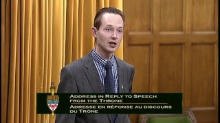 Speech from the Throne - Qst to Member of Davenport (Job killing payroll hike)- Dec. 8th, 2015