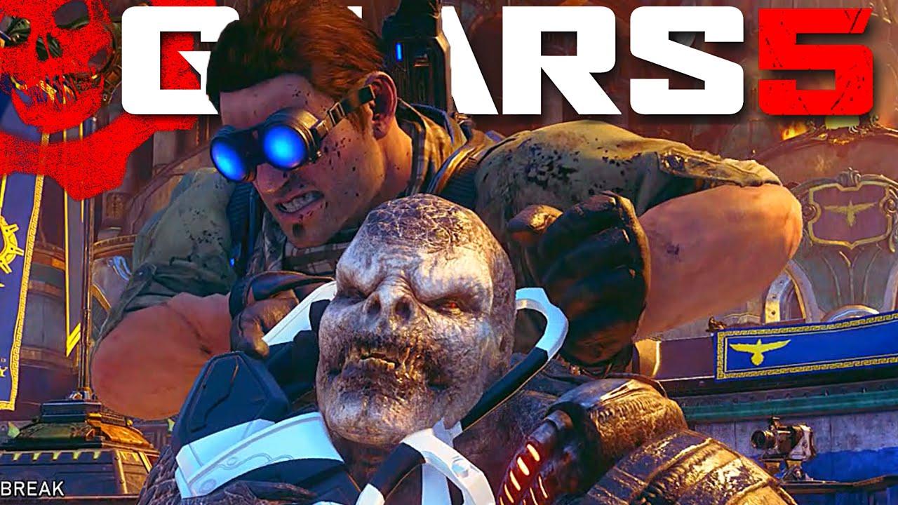 KOTH | DESERT ARMOR BAIRD | MULTIPLAYER GAMEPLAY | Gears Of War 5 thumbnail