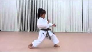 An old master in a very young body - Shotokan Kata Enpi and Kankudai