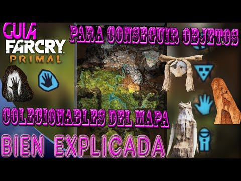 Guia de FAR CRY PRIMAL Como encontrar cosas coleccionables - 720p60 HD| #1