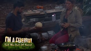 Amir and Becky Cook Up an Eggcellent Dinner! | I'm A Celebrity... Get Me Out Of Here!