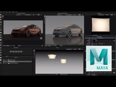 Lighting in Maya using HDR Light Studio Plugin Tutorial (Workflow 1)
