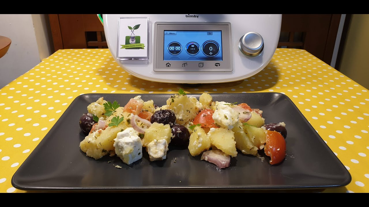 Insalata di patate alla greca per bimby TM6 TM5 TM31