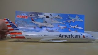 Skymarks 1:200 American 787-8 Unboxing