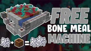 Free Bone Meal From Bone Meal (Minecraft Java 1.16+)