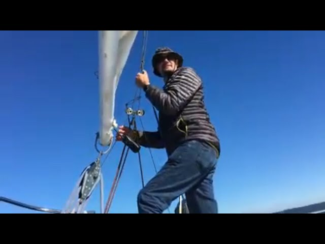 Sailing the San Juan Islands in our J24 in 2017! Throwback Episode #1! ~Life off the deep end Ep 45