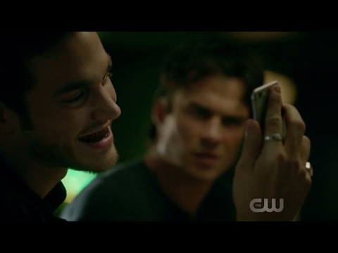 The Vampire Diaries: 8x13 - Kai and Damon funny scenes [HD]