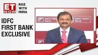 IDFC First Bank loss widens QoQ | Vaidyanathan of IDFC First Bank to ET now