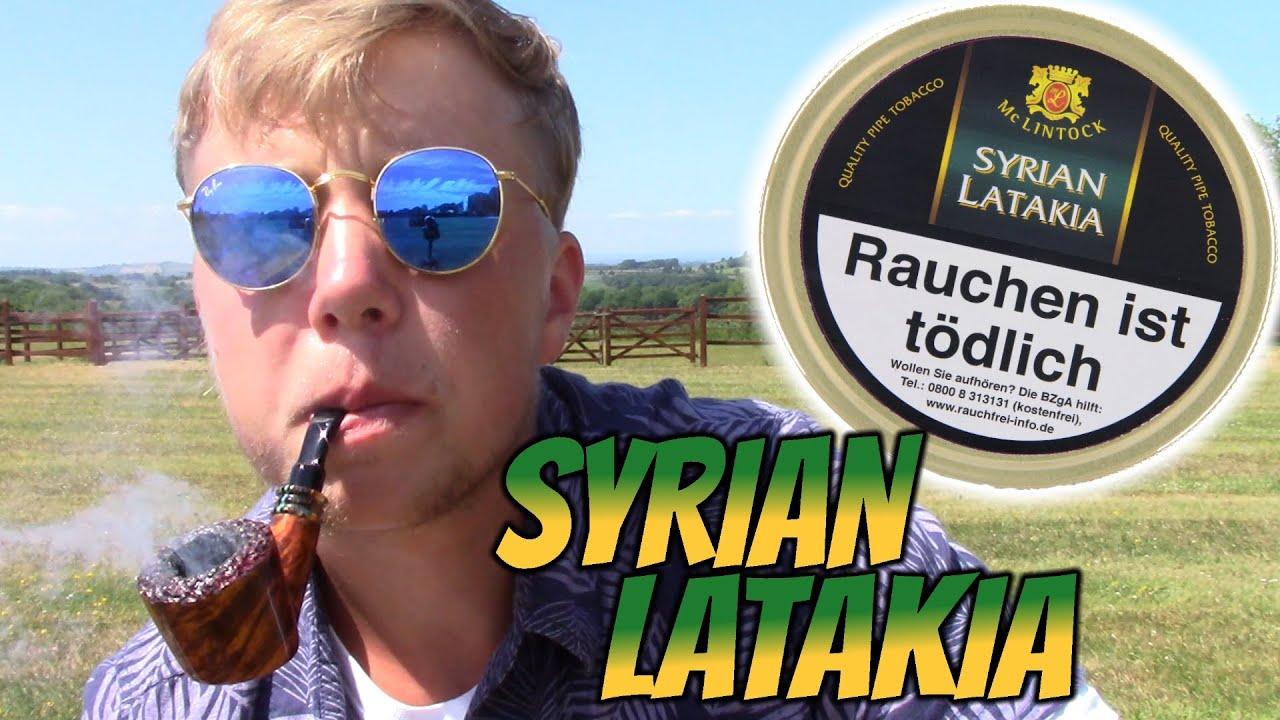 MCLINTOCKS SYRIAN LATAKIA - PIPE TOBACCO REVIEW!