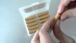 Замена картриджа электронной сигареты(Видео-урок о замене картриджей электронных сигарет. Электронная сигарета требует смены или дозаправки..., 2011-03-03T17:36:59.000Z)
