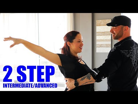 HOW TO 2 STEP  - Advanced 2 Step Dance (Country Dancing)