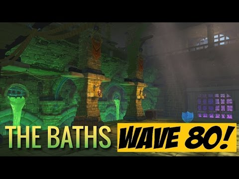 Orcs Must Die Unchained - The Baths Endless WAVE 80!