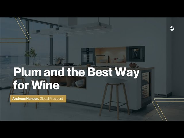 Connected Design Insider Talk: Plum and the Best Way for Wine