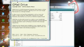 PC Tutorials - Gmail Virtual Drive Shell Extension