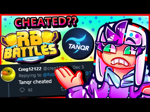 Did TanqR Actually CHEAT in ROBLOX RB BATTLES??? (The Truth)