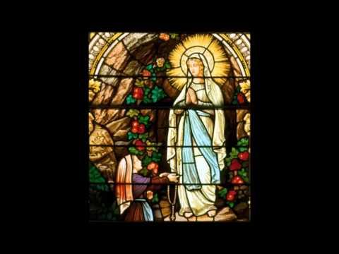 Te Lourdes op den Bergen - Ave Maria van Lourdes