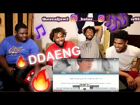 BTS RM, SUGA, J-HOPE - DDAENG (땡) (Color Coded Lyrics Eng/Rom/Han+Español) REACTION!!