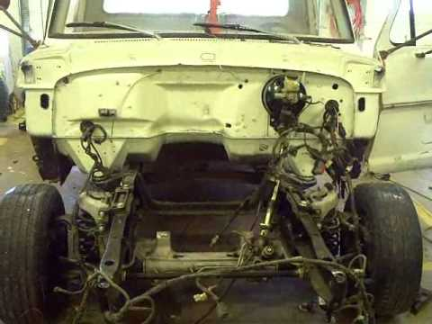 crown vic front suspension into 67 F100 four Stiefel's class