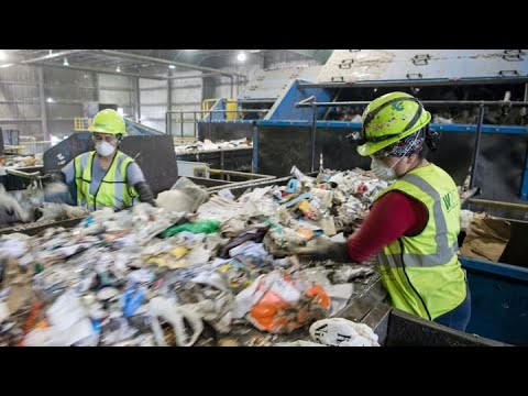 How waste management companies are seeing more trash, longer hours