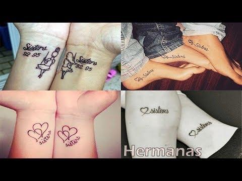 Delicados e Increibles de Tatuajes para hermanos 3, 2, y familia.