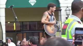 Boys Like Girls - Be Your Everything/Life of the Party @ Tanger Outlets Concert August 11th 2012