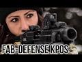 Fab-Defense KPOS Pistol SBR Chassis