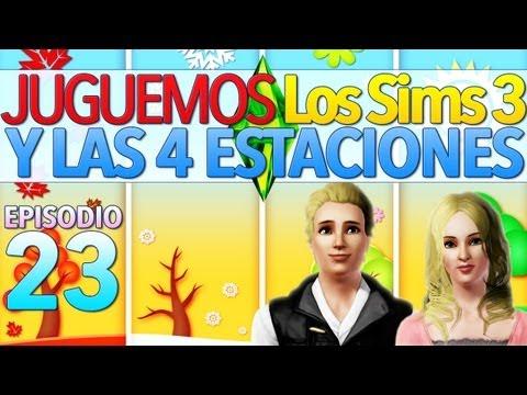 Los Sims 3 Y las Cuatro Estaciones | Parte 23: ¡Fiesta, fiesta! ¡Despedida de soltero y boda!