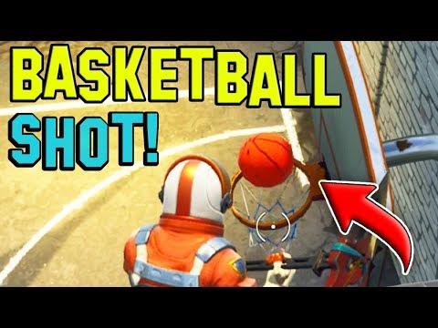 Can you SCORE a BASKETBALL Shot!? (FORTNITE BATTLE ROYALE)