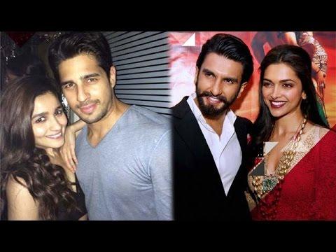 Ranveer Singh-Deepika Padukone's love traingle?, Alia Bhatt & Sidharth Malhotra's secret love story