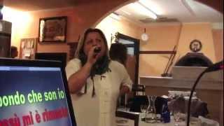 Qdk Karaoke IO VAGABONDO canta Laura