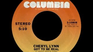 Cheryl Lynn ~ Got To Be Real 1978 Disco Purrfection Version