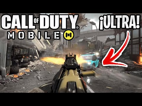 CALL OF DUTY MOBILE se ve INCREIBLE EN ULTRA HD! - COD MOBILE GAMEPLAY HDR