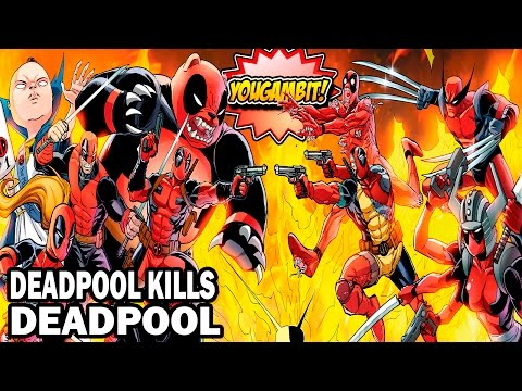 VIDEOCOMIC: DEADPOOL MATA A DEADPOOL - Historia Completa